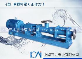 G型单螺杆泵(正体不锈钢)